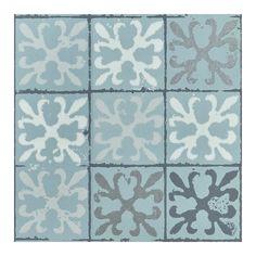 Barneby Gates Fleur de Lys Tile Wallpaper ($100) ❤ liked on Polyvore featuring home, home decor, wallpaper, gray wallpaper, beige wallpaper, cream wallpaper, grey wallpaper and gray home decor