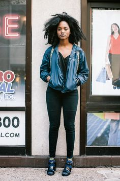 Urban Fieldnotes: Philadelphia Street Style: Gabby, Walnut St