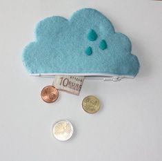 Cloud Coin Pouch