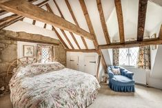 Picnic Chairs, English Cottage Interiors, Character Cottages, Heating And Plumbing, Small Space Solutions, Single Bedroom, Open Fireplace, Home Trends, Al Fresco Dining