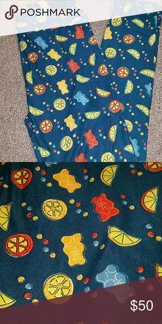 #LULAROE Lularoe Gummy Bears!  OS LEGGINGS! !! Lularoe!!!OS Gummy bear leggings LuLaRoe Pants Leggings