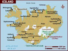 10 Best Map of Iceland images