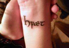 Beowulf tattoo!