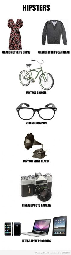 Hipster guide