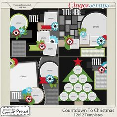 Retiring Soon - Countdown To Christmas - 12x12 Temps (CU Ok)