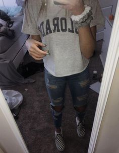 Best Vintage Outfits Part 25 Baddie Outfits For School, Casual Outfits For Teens, Lazy Day Outfits, Casual Dress Outfits, Chill Outfits, Dresses For Teens, Everyday Outfits, Trendy Outfits, Fashion Outfits
