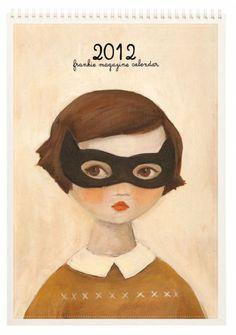 Frankie Magazine 2012 calendar