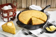 Southern Buttermilk Cornbread Recipe