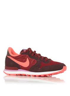 nike internationalist dames bordeaux rood