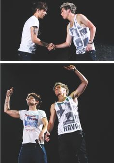 nouis <3 Let's just get this straight. They are my  third favorite bromance. Behind Narry and Lirry