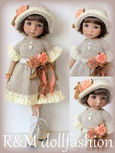 "R&M DOLLFASHION-OOAK ROMANTIC LINE set outfit for LITTLE DARLING EFFNER 13"" doll   eBay"