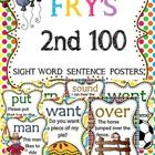 These are the second  set of my sight word sentence cards with the FRY'S list instead of the Dolch. I have been getting requests to make it, so her...