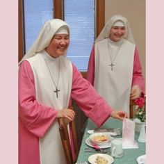 The pink nuns