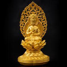 仏像純金K24大日如来121.1g