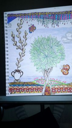 Doodle art and beauty