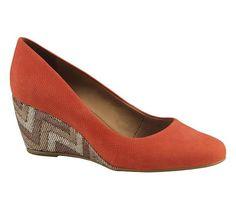 Sapato com salto anabela | Sapatos | Bottero Calçados