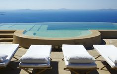 Mykonos  www.ikh-luxuryrental.com  Located uphill in a unique wind-sheltered position in the Fanari area,