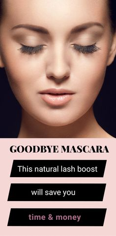 all-natural lash boost, 100% love