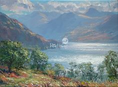 Mark PRESTON - Early Autumn Sun, Crummock Water