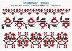 Folk Embroidery, Learn Embroidery, Cross Stitch Embroidery, Embroidery Patterns, Knitting Patterns, Cross Stitch Borders, Cross Stitch Designs, Cross Patterns, Beading Patterns