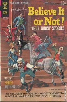 Ripley's Believe it or Not  True Ghost Stories #18  Gold Key Comics  February 1970  $.15