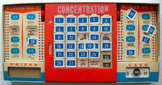 Concentration game---LOVED this!