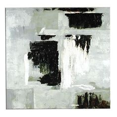 Abstract monochrome artwork print.  http://www.worldstores.co.uk/p/Blanche_Noir_Picture.htm