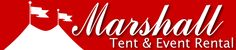 Marshall Tent & Event Rental New England Maine ME New Hampshire NH  Did have issues with communication, and lighting which was promised to be light enough, by definitely wasn't