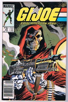 "G.I. Joe: A Real American Hero #43, January 1986, ""Crossroads"", cover by Mike Zeck"