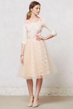 Alexandra Grecco Aurelie Tulle Skirt- Anthro #AnthroFave