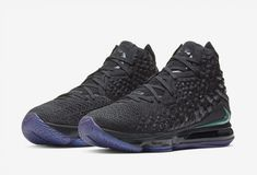Nike LeBron 17 Currency Release Date - Sneaker Bar Detroit Nike Lebron, Lebron 17, Lebron James, Black Shoes, All Black Sneakers, Air Max Sneakers, Sneakers Nike, Sneaker Bar, Nike Basketball