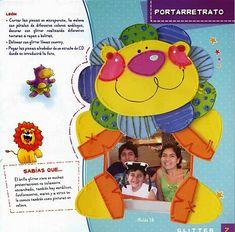 Como hacer recuerdo en Glitter - Revistas de manualidades Gratis Foam Crafts, Diy And Crafts, Crafts For Kids, Margarita, Ideas Para, Winnie The Pooh, Activities For Kids, Kindergarten, Teacher