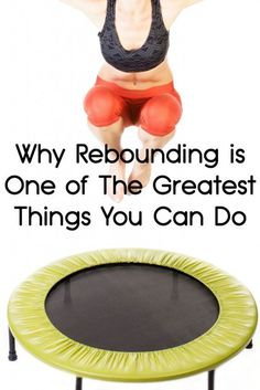 Rebounding is more than just fun. There are specific health benefits that make is a great choice of daily exercise. Rebounding is something you can do. Trampolines, Fitness Diet, Health Fitness, Pilates Fitness, Mini Trampoline Workout, Health Tips, Health And Wellness, Healthy Lifestyle Tips, Yoga