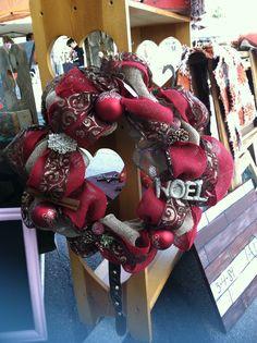 Christmas Wreath Noel