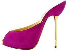 Elegant, simple Christian Louboutin heels for women fashion style. high heels,heels for women 2015 Louboutin Paradise Red Bottom Shoes, Christian Louboutin Outlet, Stiletto Pumps, Suede Pumps, Stilettos, Red High Heels, Dream Shoes, Me Too Shoes, Fab Shoes