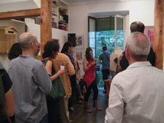 Foto 17 de la primera exposición del proyecto de arte Sheltered Beacon shelteredbeacon.w... , proyecto seleccionado para Arte Open Views Madrid 2014 arteopenviews.com/