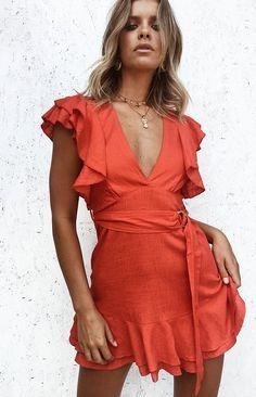 Novo Dress Red
