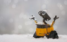 I think everyone can relate to a Pixar character.  For me, that character is WALL-E.