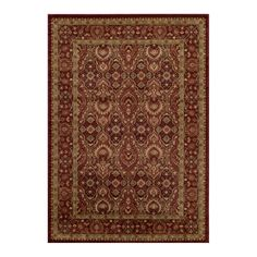 Momeni Belmont BE-05 Area Rug - Red - BELMOBE-05RED2030