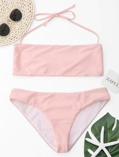 GET $50 NOW | Join Zaful: Get YOUR $50 NOW!http://m.zaful.com/halter-bandeau-bikini-set-p_300194.html?seid=3158646zf300194