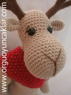 Reindeer Crochet Pattern (pay $8.61)