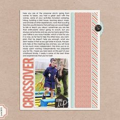 July Reader Challenge: Scrapbook with Red, White & Blue - Simple Scrapper