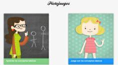 Pictojuegos : Puedes trabajar emociones  con imágenes reales o con Pictomemory . Acciones , Puzzles y conceptos básicos .