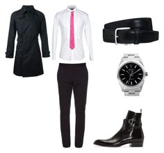 """""""Smart work look"""" by xxlove-fashionxx on Polyvore featuring Dolce&Gabbana, Gucci, Tod's, Yves Saint Laurent, Rolex, Versace, men's fashion and menswear"""