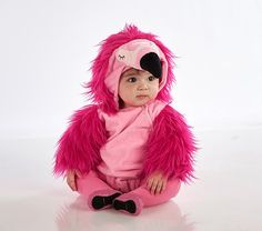 Pottery Barn Kids Just Rolled Out New Halloween Costumes, Including This Adorable Flamingo Costume Baby Girl Halloween Costumes, Flamingo Halloween Costume, Halloween Costume 1 Year Old, Toddler Costumes, Halloween Night, Halloween Party, Halloween 2019, Astronaut Halloween, High Quality Halloween Costumes