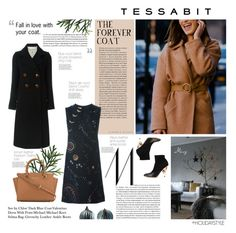 """""""The Forever Coat"""" by thewondersoffashion ❤ liked on Polyvore featuring See by Chloé, Valentino, MICHAEL Michael Kors, Givenchy, valentino, MichaelMichaelKors, tessabit and SeeByChloe"""
