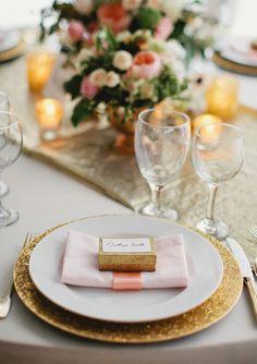 Rose and gold wedding ideas | #wedding #mybigday