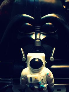 I am not your father #astronaut #darthvader #starwars #space