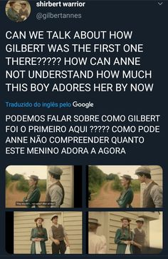 Anne with an E Cena shirbert Gilbert And Anne, Gilbert Blythe, Anne With An E, Anne Shirley, E 3, Cuthbert, Kindred Spirits, Period Dramas, Big Bang Theory