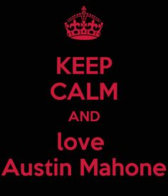 "Austin Mahone Love Him. Be a Fan, Be a MAHOMIE to represent him girls. HE WOULD LOVE YUR SUPPORT PLEASE HELP HIM TO BECAME THE WORLDS BIGGEST SINGER AND SONGWRITER. HE SAYS THAT ""HIS FANS OR SHOULD I SAY ""MAHOMIES"" REALLY SUPPORT HIM AND THEY DO. I JUST BECAME A MAHOMIE AND I AM EXCITED TO BE ONE. LUV I AUSTIN MAHONE."